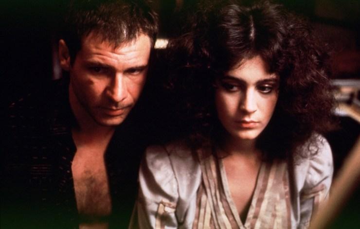 Blade Runner, Deckard and Rachael