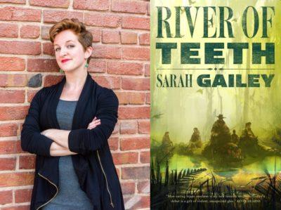 Sarah Gailey AMA author photo, book cover
