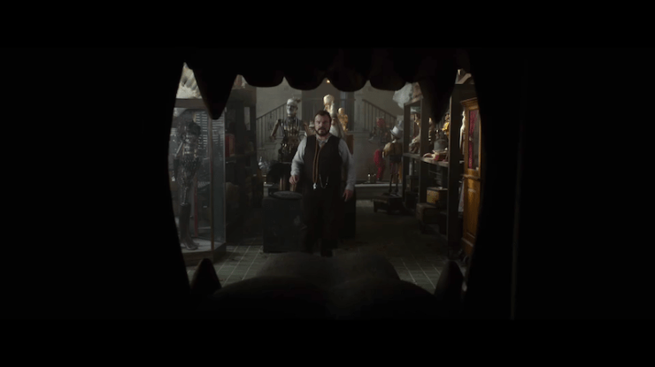 The House with a Clock in Its Walls first trailer John Bellairs adaptation movie Eli Roth Jack Black