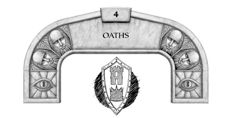 Oathbringer Reread Chapter 4 Oaths arch icon Brandon Sanderson