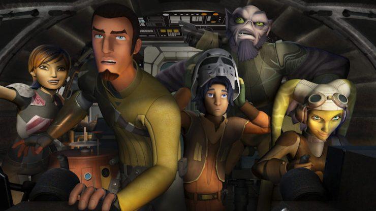 Star Wars Rebels, Ghost crew