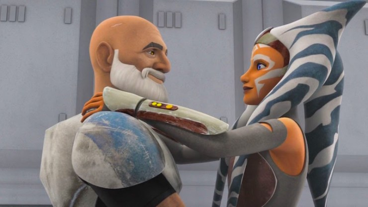 Star Wars Rebels, Rex and Ahsoka
