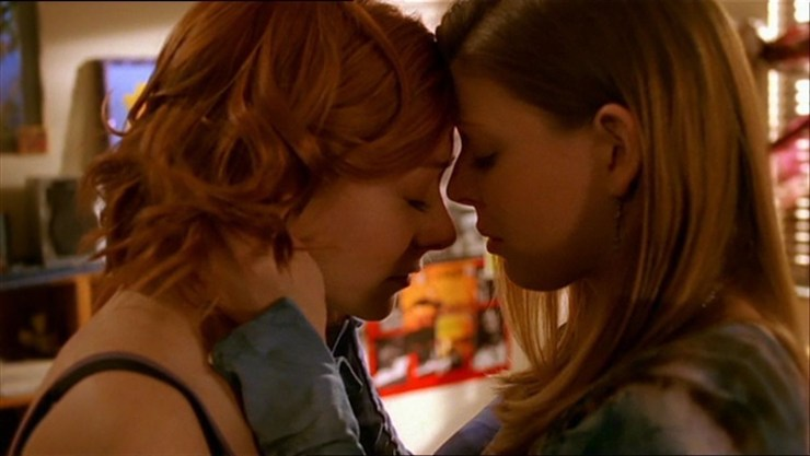 Willow/Tara beta couples Buffy the Vampire Slayer Valentine's Day
