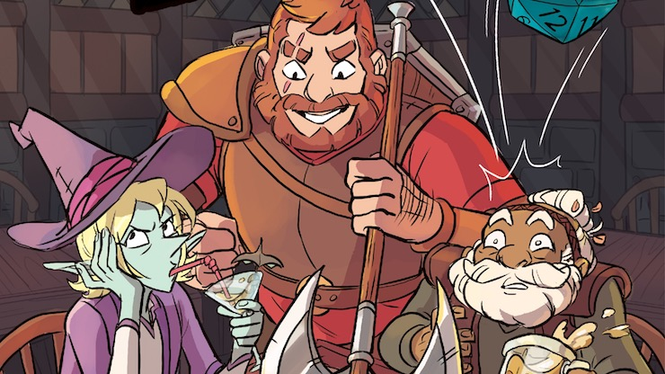 A Collaboration Made In Faerun The Adventure Zone Here There Be