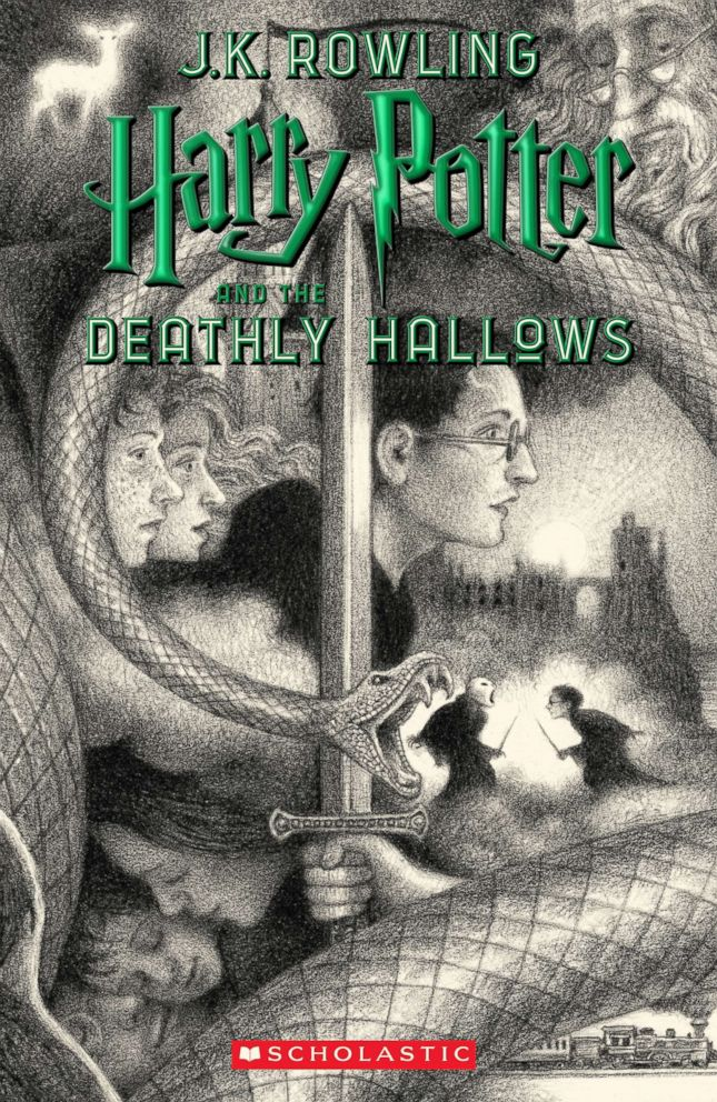 Harry Potter series, 20th anniversary, cover art, Brian Selznick