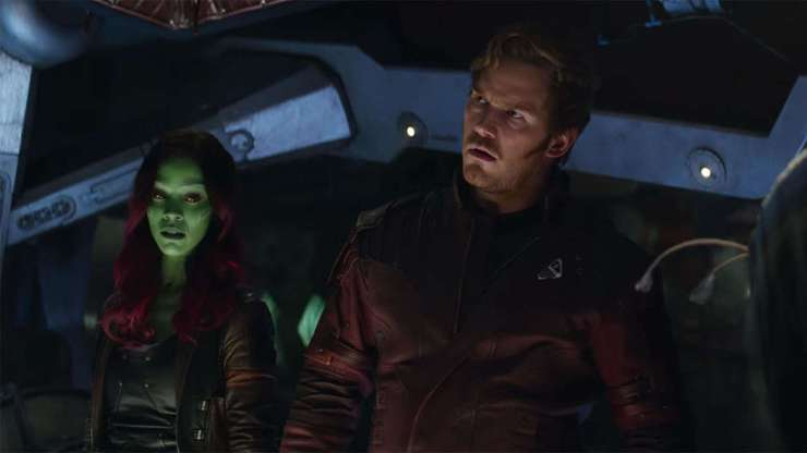 Avengers: Infinity War spoiler review Star-Lord