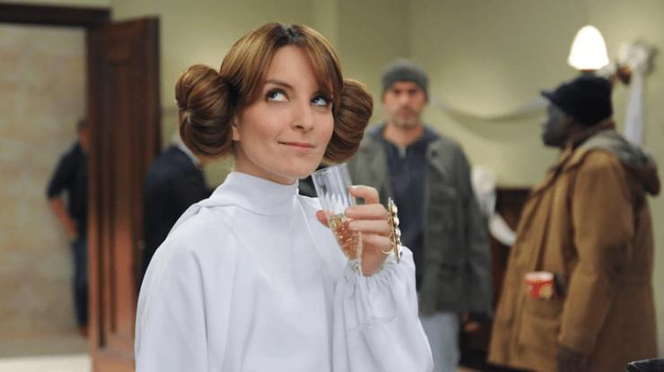 30 Rock Liz Lemon Princess Leia wedding jury duty nerdy sitcoms