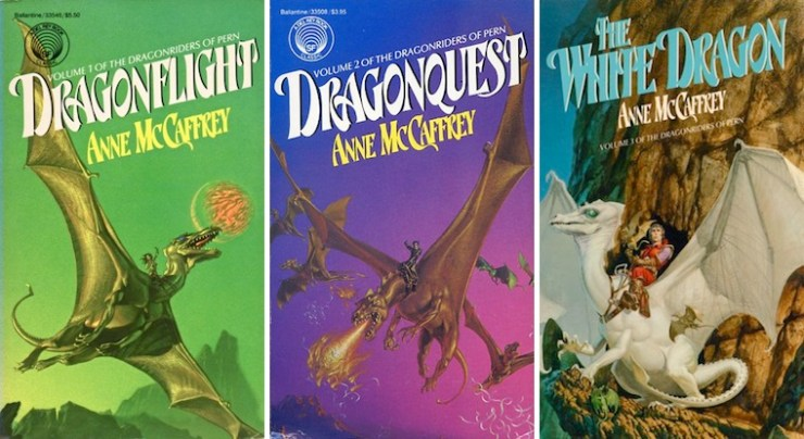 Blog Post Featured Image - A Horse by Any Other Name: Anne McCaffrey's Dragons