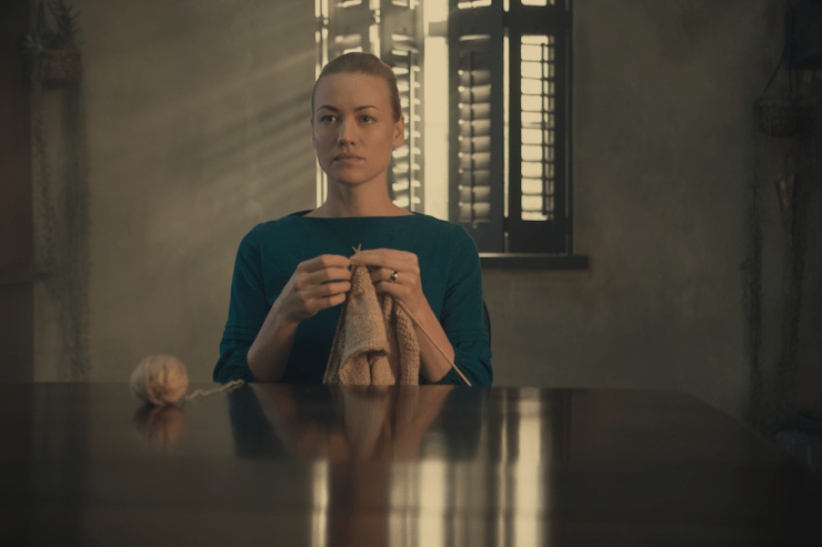 "The Handmaid's Tale 206 ""First Blood"" television review Serena Joy"