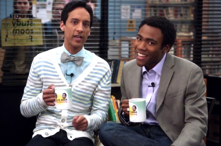 Community, Abed and Troy