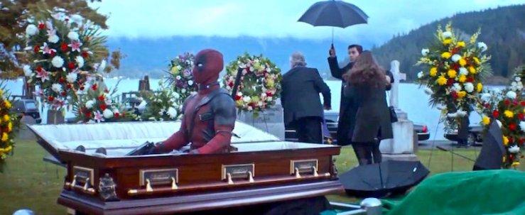 Deadpool 2 coffin