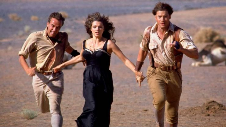 The Mummy running archaeology disaster warnings