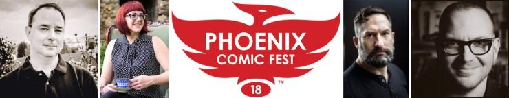 Phoenix Comic Fest Tor Books Tor.com Publishing authors
