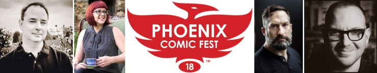 Blog Post Featured Image - Meet Tor and Tor.com Publishing Authors at Phoenix Comic Fest!