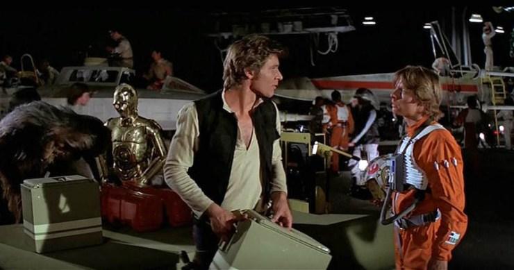 Luke Skywalker, Han Solo, Star Wars: A New Hope