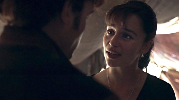 Solo: A Star Wars Story, Qi'ra and Han