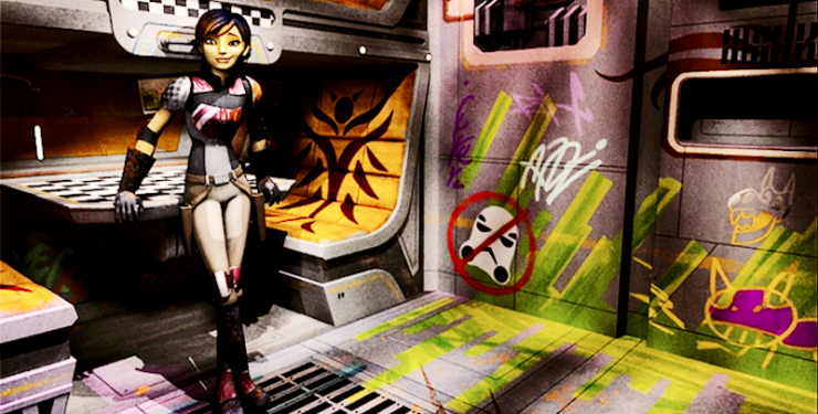 Star Wars: Rebels, Sabine