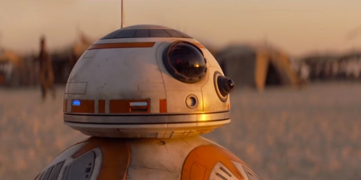 BB-8, Star Wars: The Force Awakens