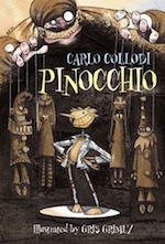 Pinocchio adaptation Guillermo del Toro Gris Grimly illustrations