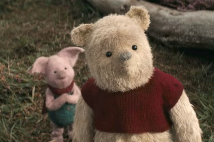 Christopher Robin, Winnie the Pooh, Piglet