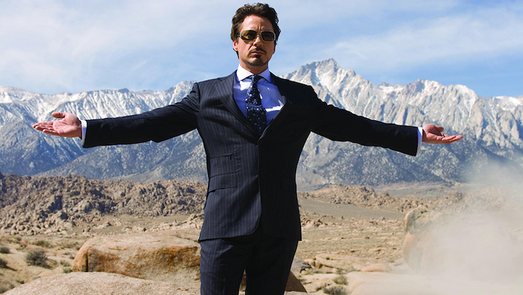 """Don't waste your life, Stark"""" — Iron Man 