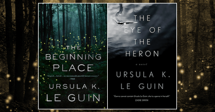 Blog Post Featured Image - Starting Over with Le Guin's The Beginning Place and The Eye of the Heron