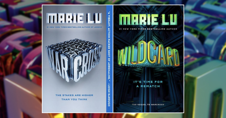 Blog Post Featured Image - Romance vs Ethics: Warcross and Wildcard by Marie Lu