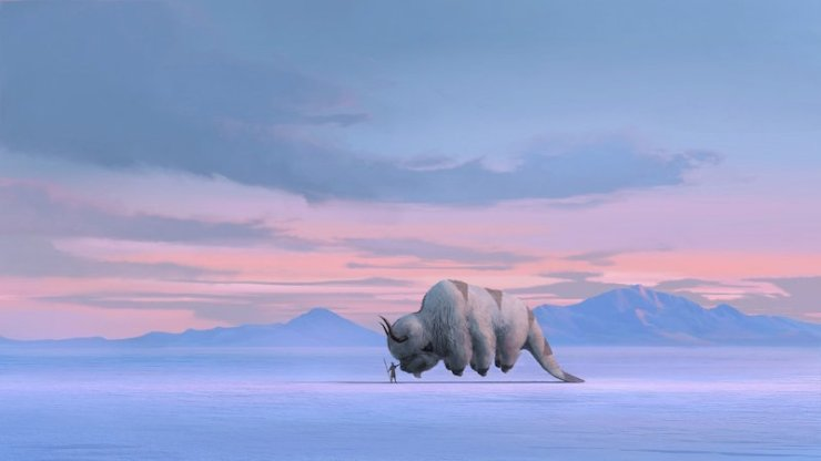 Concept Art by John Staub. Avatar: The Last Airbender