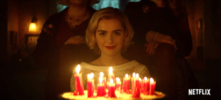 Chilling Adventures of Sabrina teaser Netflix reboot adaptation Roberto Aguirre-Sacasa witch happy birthday