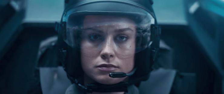 Captain Marvel trailer, Carol Danvers