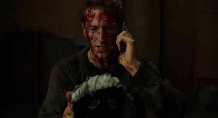 You Might Be the Killer trailer Chuck Wendig Sam Sykes viral horror Twitter thread Fran Kranz Alyson Hannigan