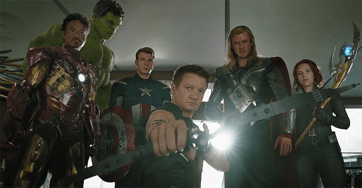 "Earth's mightiest heroes type of thing"" — Avengers 