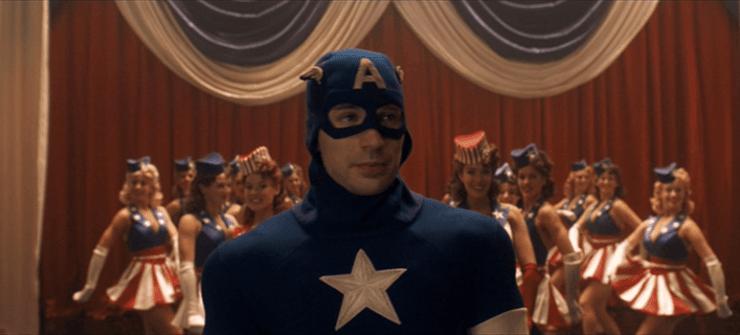 """I don't like bullies"""" — Captain America: The First Avenger"""