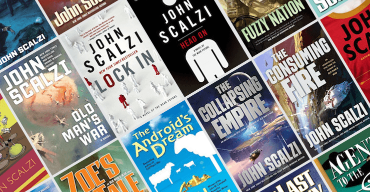 Blog Post Featured Image - Which John Scalzi Novel Should You Read Next? A Guide for Newbies and Fans