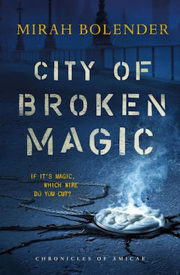 Blog Post Featured Image - City of Broken Magic Sweepstakes!