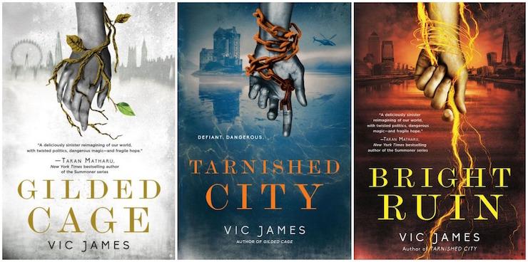Dark Gifts series by Vic James