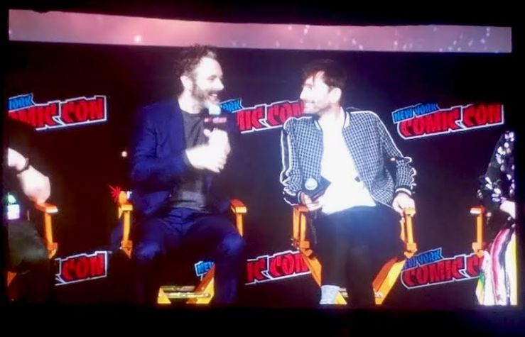 Michael Sheen and David Tennant on Good Omens NYCC panel