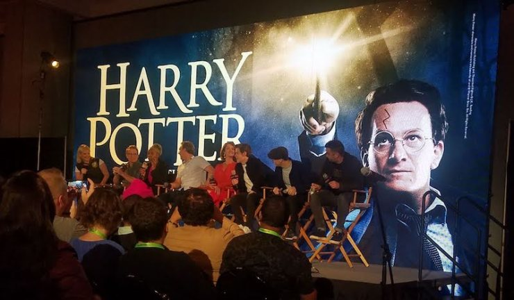 Cast of Harry Potter and the Cursed Child at New York Comic Con 2018