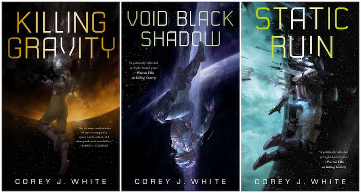 Voidwitch series by Corey J. White