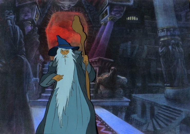 Ralph Bakshi's Animated The Lord of the Rings Shows the True