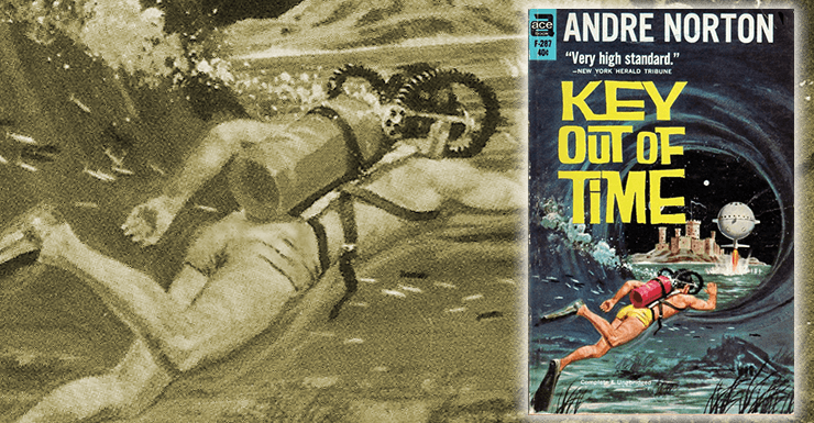 Blog Post Featured Image - Back on Track with Andre Norton's Key Out of Time