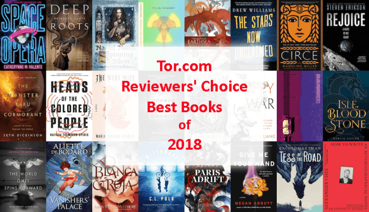 Blog Post Featured Image - Tor.com Reviewers' Choice: The Best Books of 2018