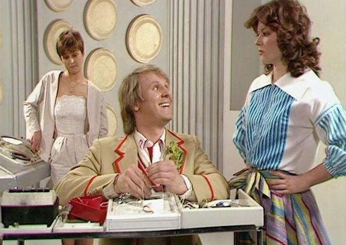 Doctor Who, Snakedance, Fifth Doctor, Nyssa, Tegan