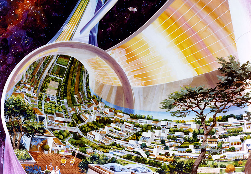 Classic SF Works Set on Thrilling Space Habitats   Tor com