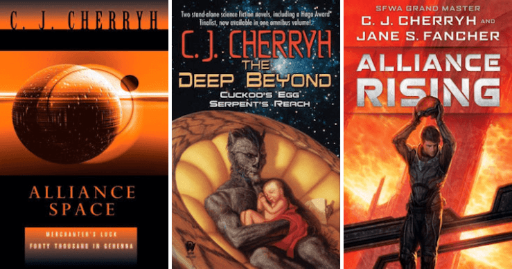 Sleeps With Monsters: Jumping Into C.J. Cherryh's Alliance-Union Books