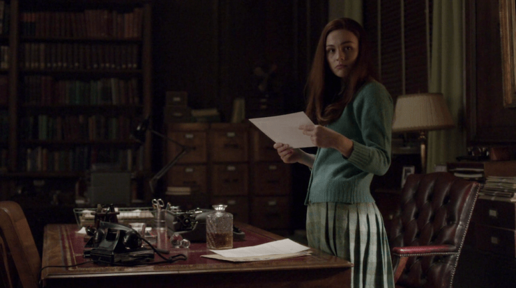 """Outlander 407 """"Down the Rabbit Hole"""" television review Brianna obituary"""