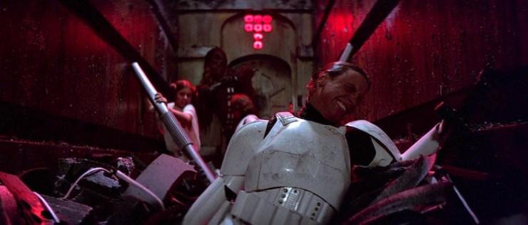 Star Wars: A New Hope, trash compactor