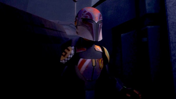 Star Wars Rebels, Sabine Mandalorian armor
