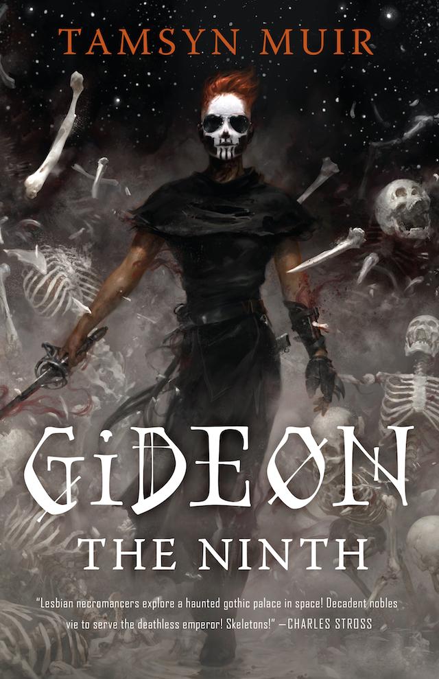 Gideon the Ninth Tamsyn Muir cover