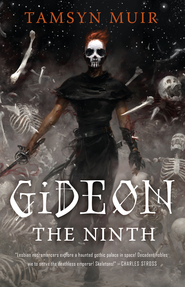 Image result for gideon the ninth cover""